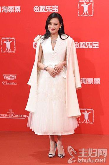 资讯【明星搭配】上海电影节女星亮相